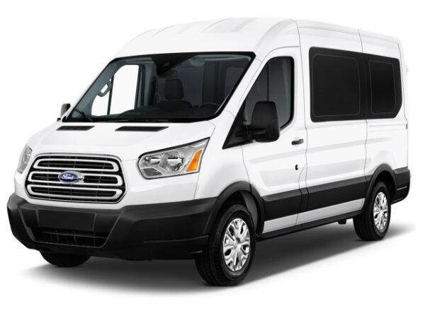 4.1a PASSENGER VAN: Mini; 7 passengers – 2020 Ford Transit S.V. 7 Passenger