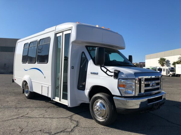 3.4 CAB AND CHASSIS: 1 Ton; Full Size; Dual Rear Wheel; Approx. 12,500 lb GVW – 2020 Ford E-350 EC Paratransit Bus 14 Passenger