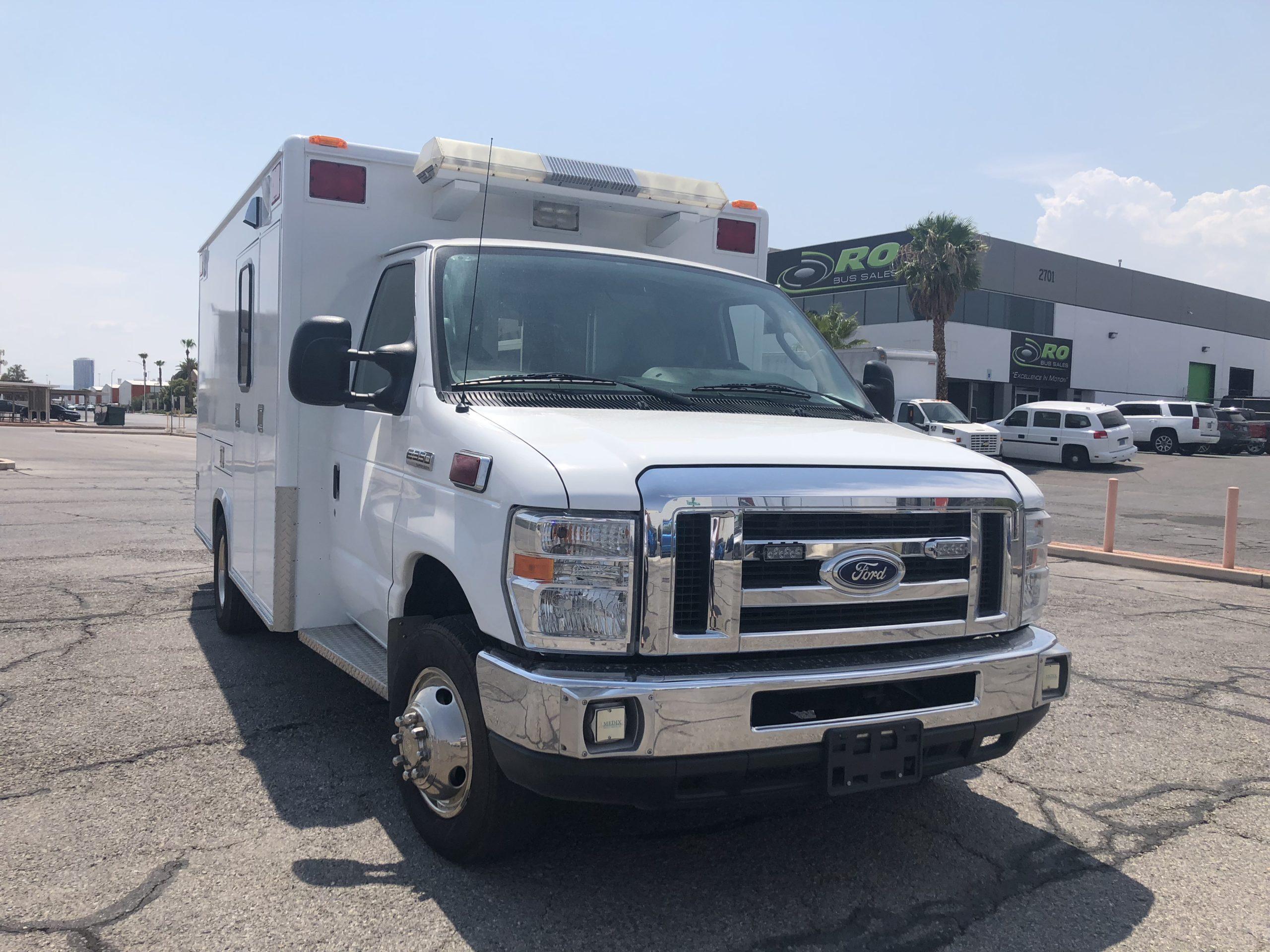 2014 Ford E350 Ambulance