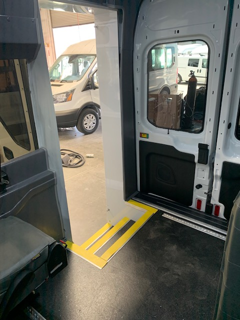 2019 Ford Transit Medium Roof 148WB w/ Rear Entry Door