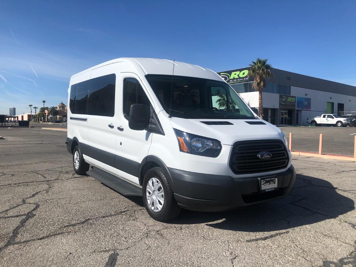 2018 Ford Transit 150 (Hybrid): Shift N' Step Mobility Lift