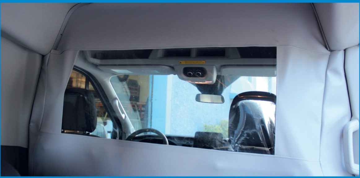 Ford Transit Covid Barrier